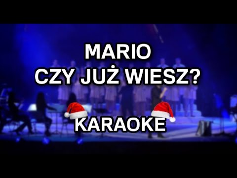 Kuba Badach & TGD - Mario, czy już wiesz? [niższa tonacja karaoke] - Polinstrumentalista