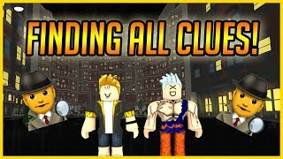 ROBLOX EGGHUNT 2018 - HOW TO FIND THE HOTEL AND ALL THE CLUES IN HARDBOILED CITY