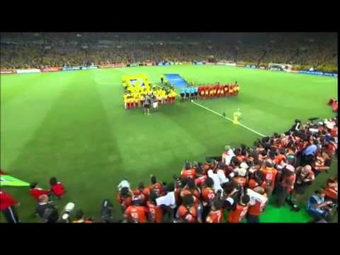 Brazilian National Anthem -  Confederations Cup Final