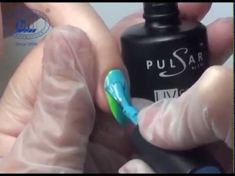 Brushless Painting  Neue Nail Art Technik von CNI