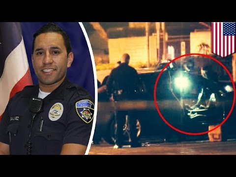 Cop killers: California officer ambushed and gunned down in police station parking lot - TomoNews