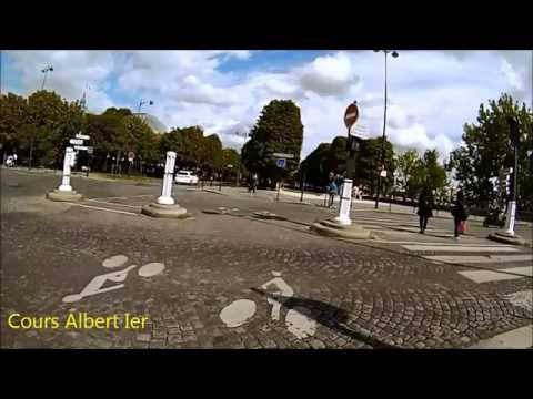 Cycling in Paris (as a tourist in August)