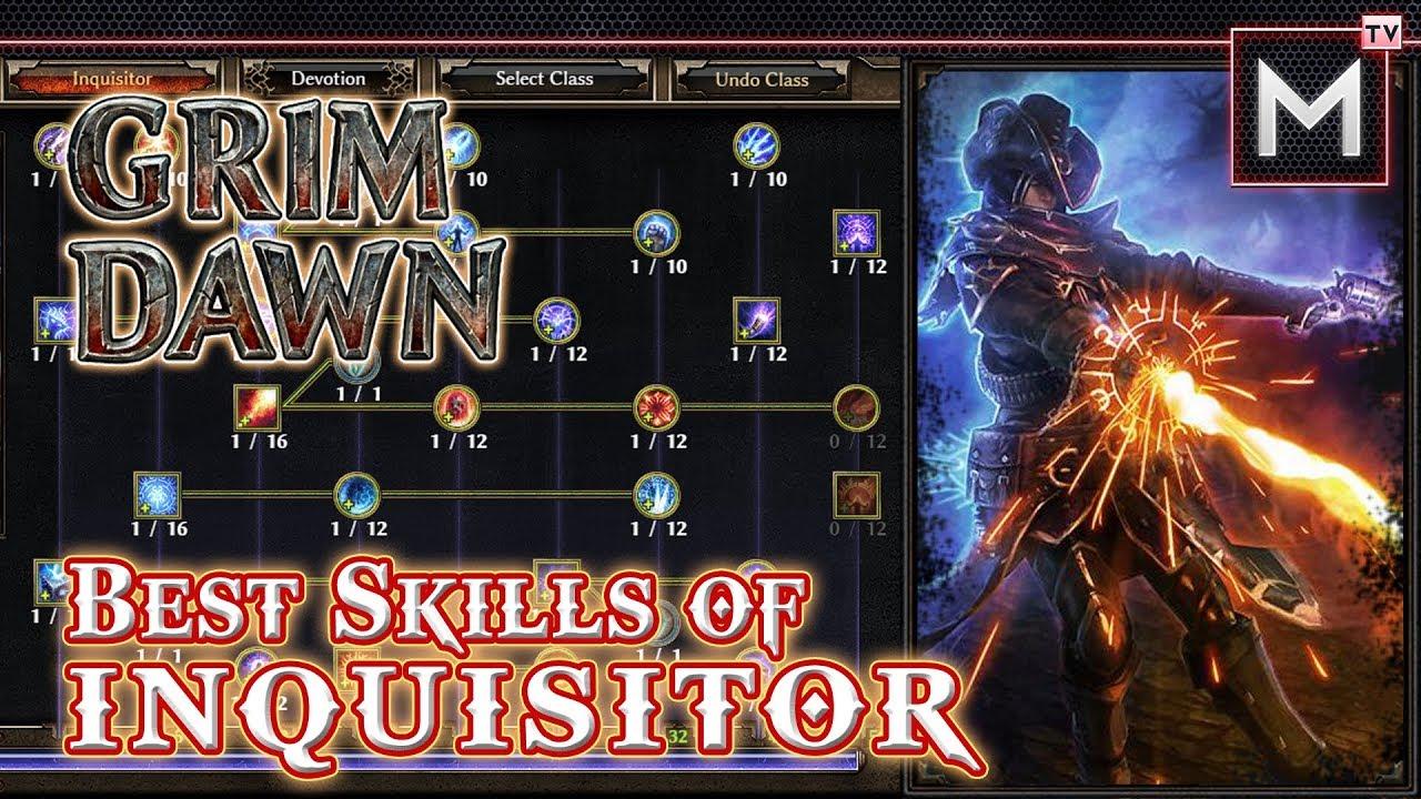 Best Skill of Inquisitor - Grim Dawn