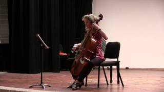 Bach Cello Suite No. 5 in c minor, BWV 1011 - Josephine van Lier, baroque cello (live/unedited)