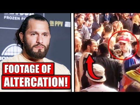 FOOTAGE of Jorge Masvidal & Colby Covington altercation at UFC 241, Dustin Poirier, Nate vs Masvidal