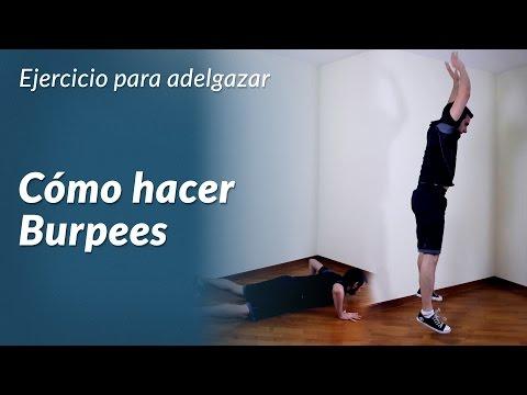 Burpees, el mejor ejercicio para adelgazar