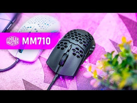 Is It TOO LIGHT?  Cooler Master MM710 Gaming Mouse Review
