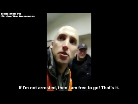 Graham Phillip arrested for Freedom of Press & Exposing the Truth! Latvia, March 16, 2016