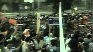 Mikhail Gorbachev visits Fidel Castro in Cuba