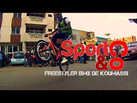 Sport & Co - Démonstration BMX à Abidjan