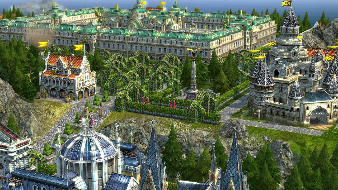 Anno 1701 The Sunken Dragon A World Of My Own Tour