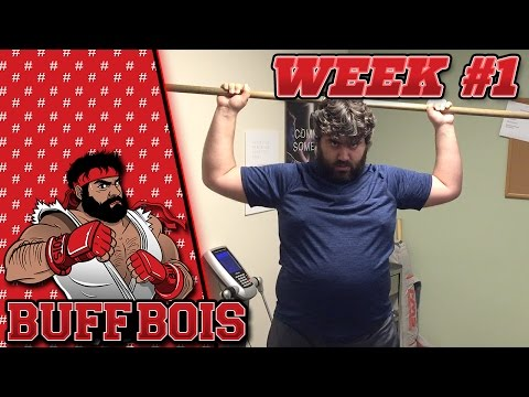 Buff Bois – Week 1 – Introduction & Exercise/Diet Plans!