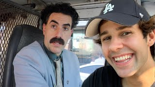 SURPRISING BEST FRIEND WÏTH BORAT!!