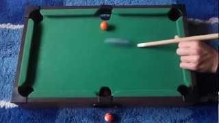 Mini Pool Trick Shots