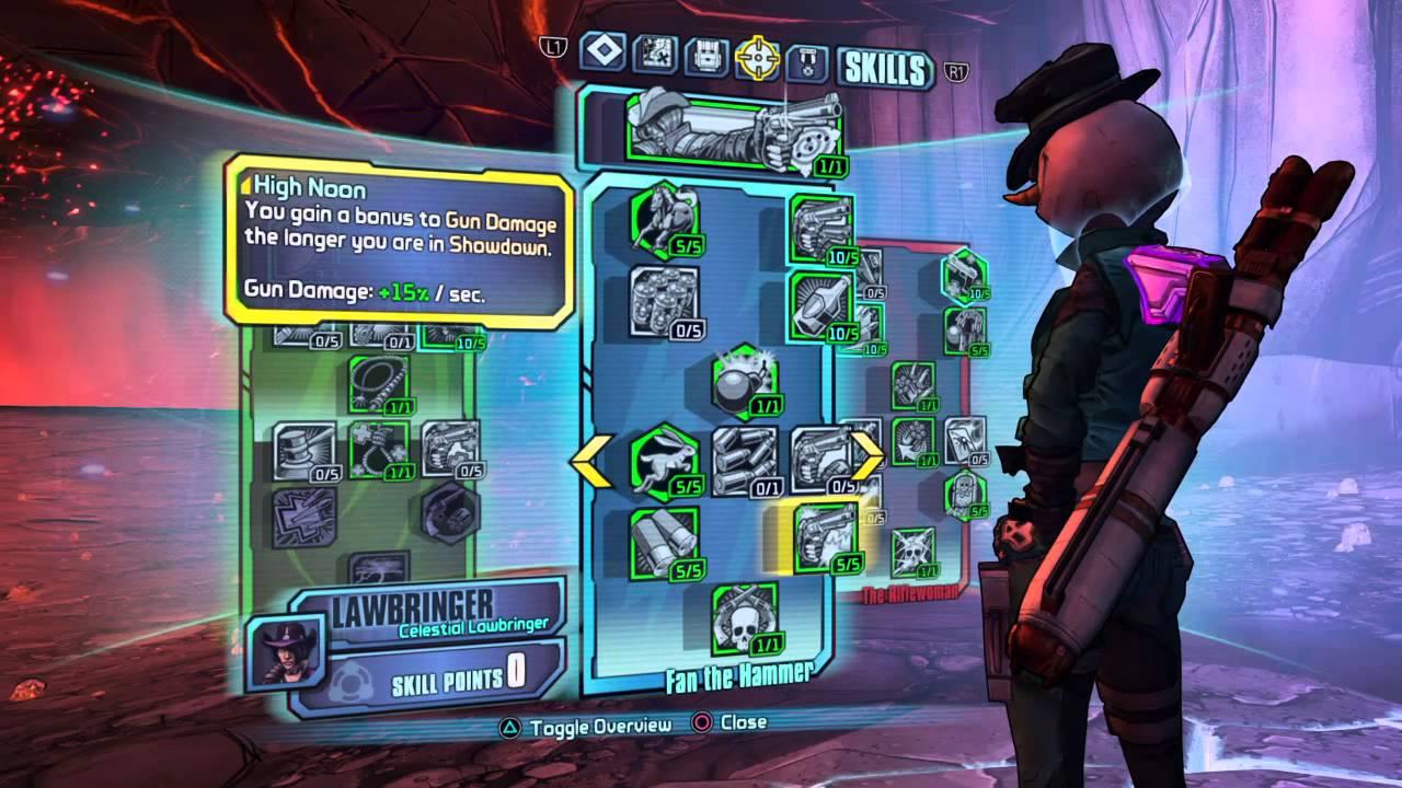 Borderlands: The Pre-Sequel Level 70 Nisha Build