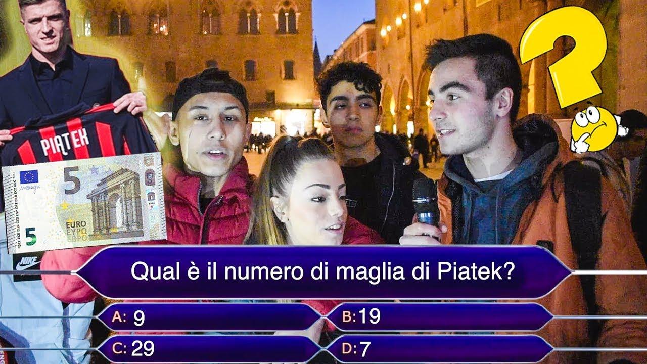 """Vinci 5 euro se indovini i QUIZ sulla SERIE A! """"Chi vuol essere milionario"""" sul CALCIO"""