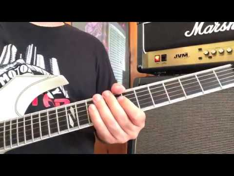 How To Play: Motley Crue 'Wild Side' Guitar Lesson