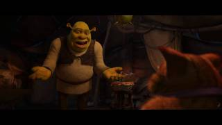 DreamWorks' 'Shrek Forever After' Clip - Puss In Boots