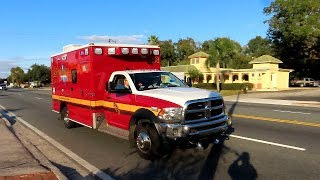 Rescue 24 Responding - Seminole County Fire Department
