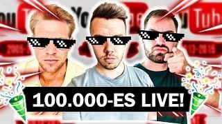 Download ELÉRTÜK A 100.000 FELIRATKOZÓT! (LIVE) | TRIÓ! EPISODE #058
