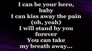 HERO (Lyrics) - ENRIQUE IGLESIAS