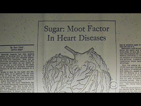 Did sugar industry play down health hazards for decades?