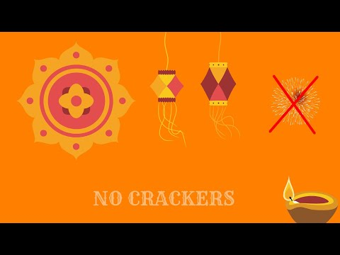 HOW DO CRACKERS EFFECT OUR ENVIRONMENT | Explaining greenhouse effect | Crackerless diwali |