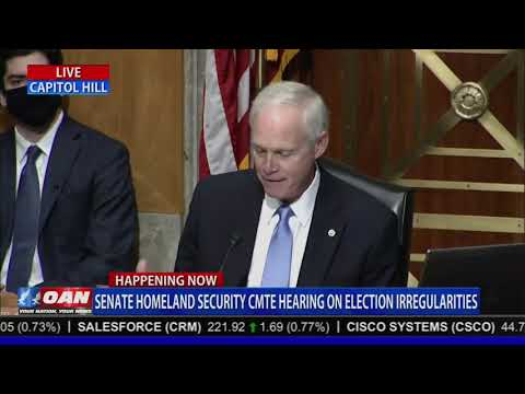 Senator Ron Johnson: Many of the irregularities found during the election need to be taken seriously