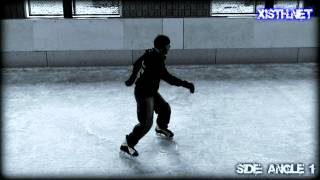 Freestyle Ice Skating Tutorial - Trick: Crazy Legs