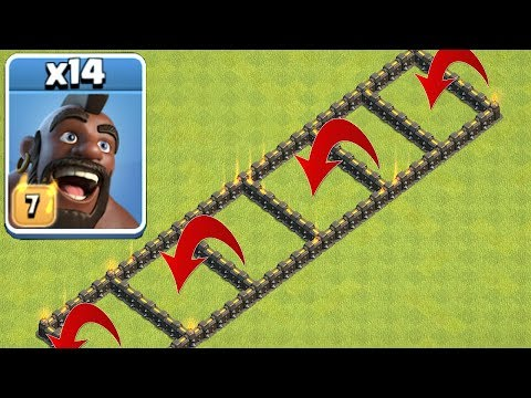 HOG RIDER SUPER JUMP!!! | Clash Of Clans | TROLL BASE!!