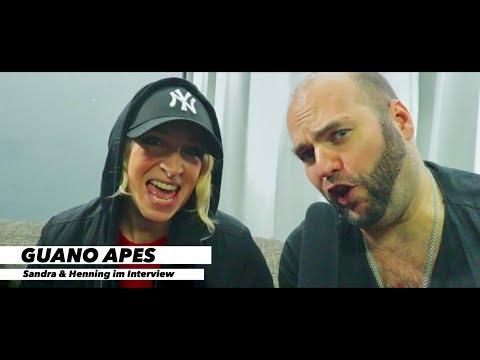 GUANO APES! Sandra und Henning im Interview | www.pitcam.tv