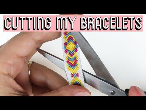 CUTTING MY BRACELETS || Friendship Bracelets