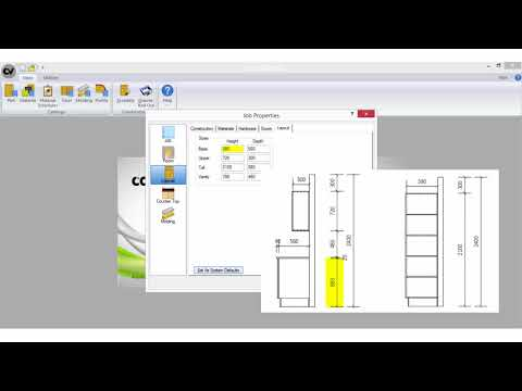 Cabinet Vision SE Asia Tutorial (Basics 1) - Job Properties