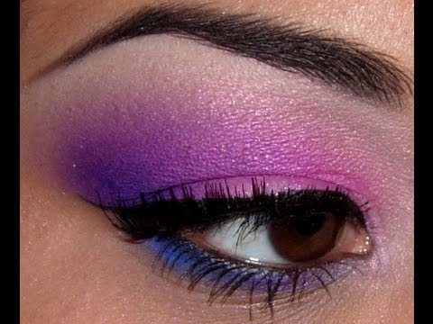 14 Pink Purple And Blue Look Using Elf Youtube
