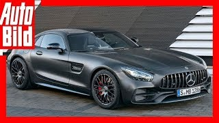 Mercedes-AMG GT C Edition 50 (2017) Details/Review/Sound