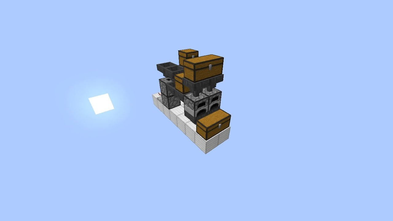 how to build a smelter in minecraft