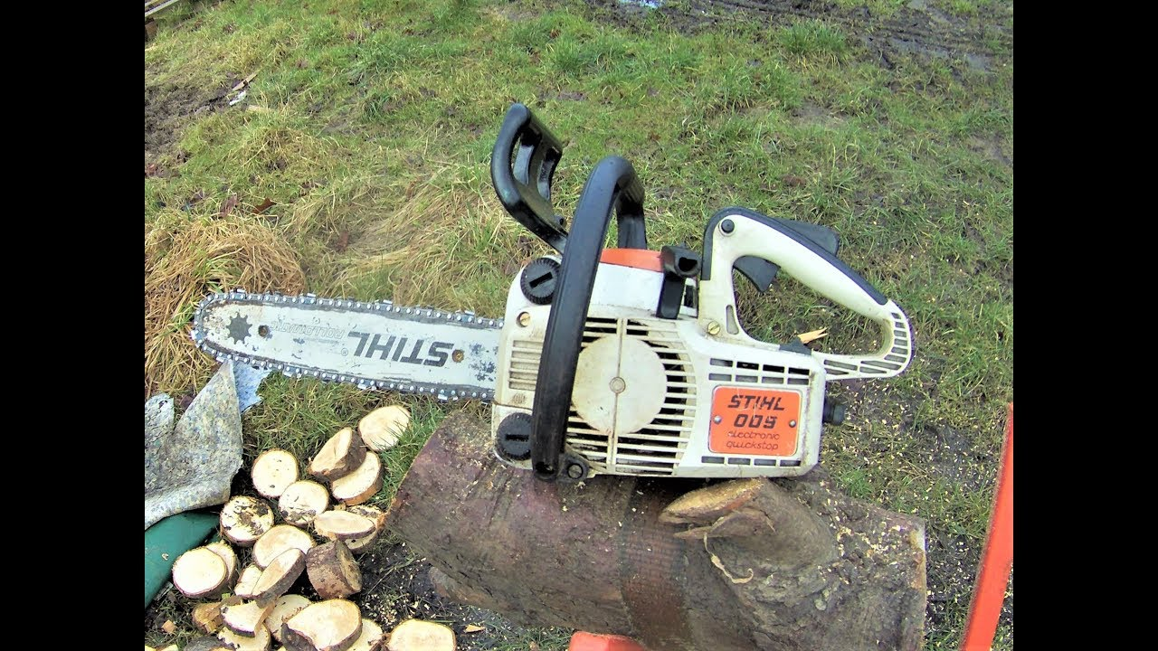 How To Tune Up A Stihl 009 Chainsaw