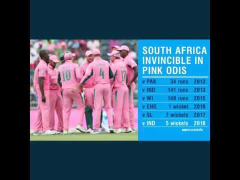 South Africa Pink day records