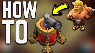 HOW TO USE AIR SWEEPER Clash of Clans | BEST PLACEMENT OF AIR SWEEPER