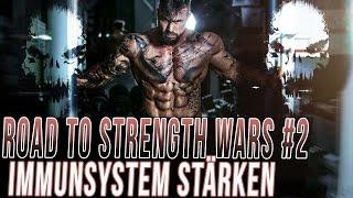 road to strength wars by jil 2 aktuelle form 100 kg bankdrcken immunsystem strken