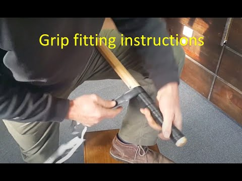 How To Fit A New Croquet Mallet Grip