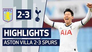 Highlights | Aston Villa 2-3 Spurs | Heung-min Son's Last-minute Winner!