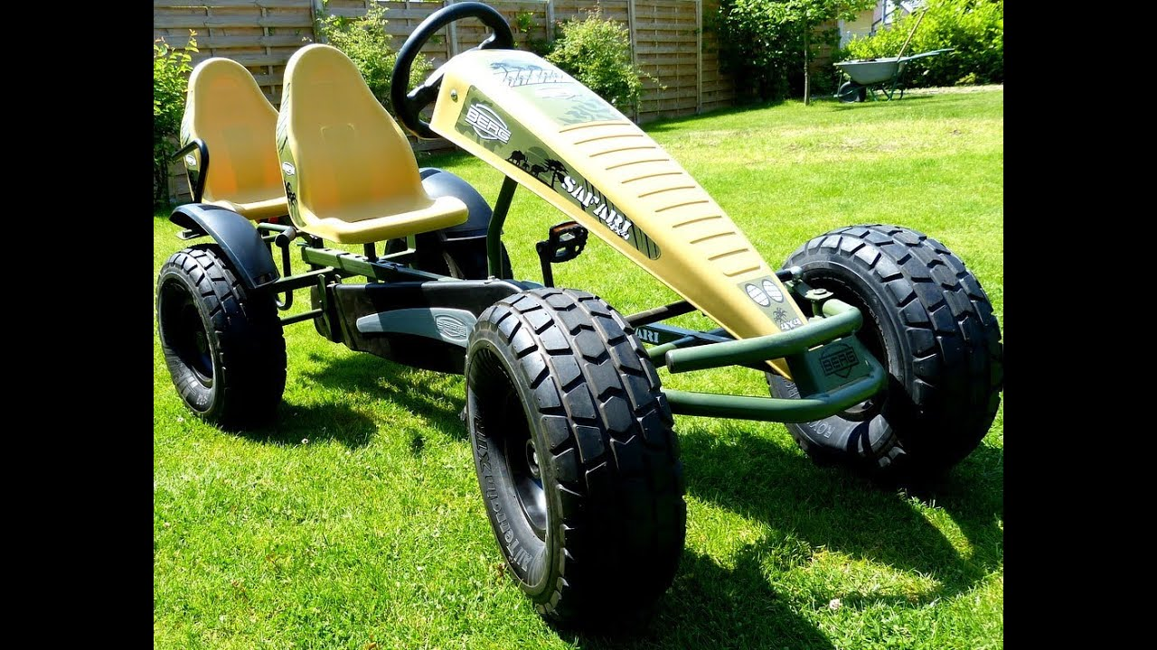 BERGTOYS Berg Safari Pedal Gokart (full-HD) awesome, amazing & impressing