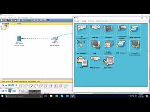 How to backup and restore startup configuration to and from tftp server in cisco packet tracer