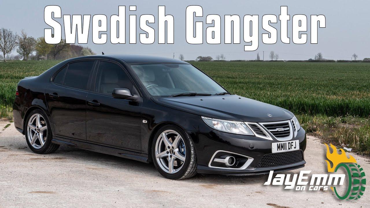 for Saab 9-3 facelift sedan 2008+ Lowered SEDAN MAFIA sticker