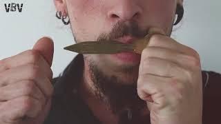 Brass Triple H'Mong Danmoi Jew's Harp - Vietnam video
