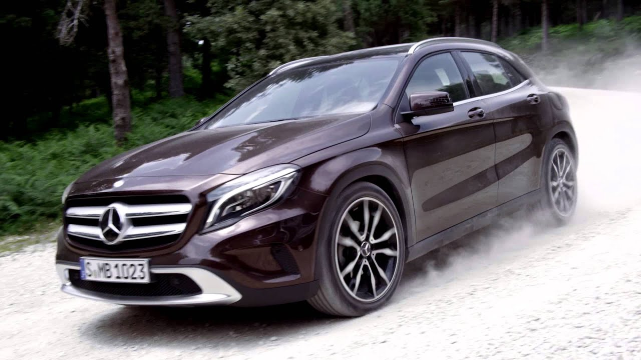 der neue mercedes gla the all new mercedes gla youtube. Black Bedroom Furniture Sets. Home Design Ideas