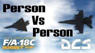 DCS: PvP F-18 Hornet Vs Mirage 2000C Online BVR Fight.