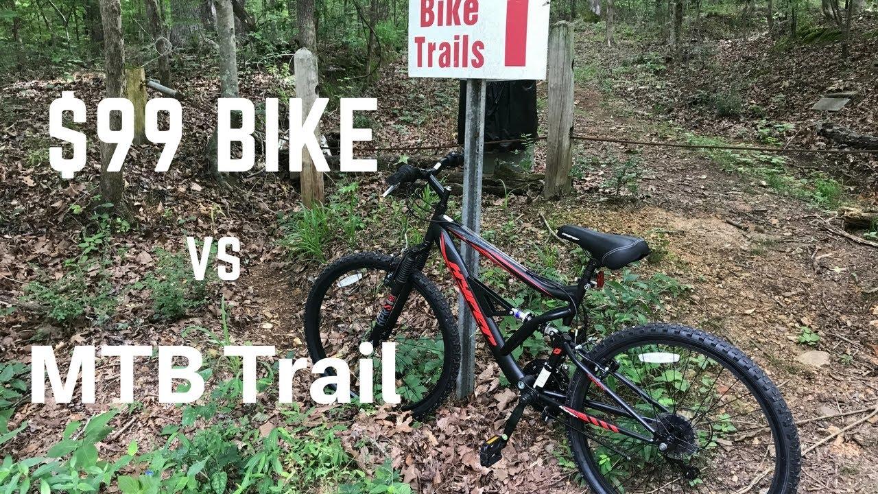 Dual Suspension Mountain Bikes Walmart >> 99 Walmart Mountain Bike Can T Handle Mtb Trail Hyper Shocker 26 Dual Suspension