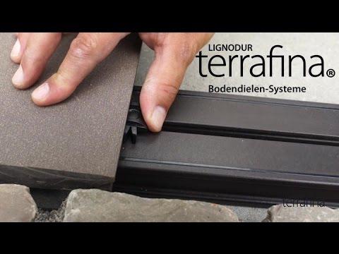 verlegen einer terrafina terrasse wpc teil 2 verlegung der dielen youtube. Black Bedroom Furniture Sets. Home Design Ideas